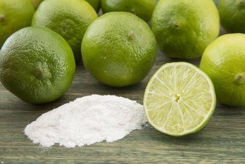 Naturlige deodorante rmed natron og lime