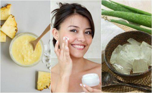 Stram huden op på dit ansigt med disse 5 naturlige behandlinger