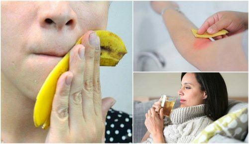8 fascinerende måder at bruge bananskræl på