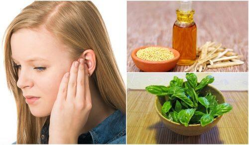 6 hjemmemidler til at reducere tinnitus
