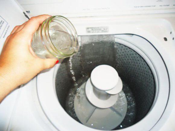 Brintoverilte i vaskemaskinen