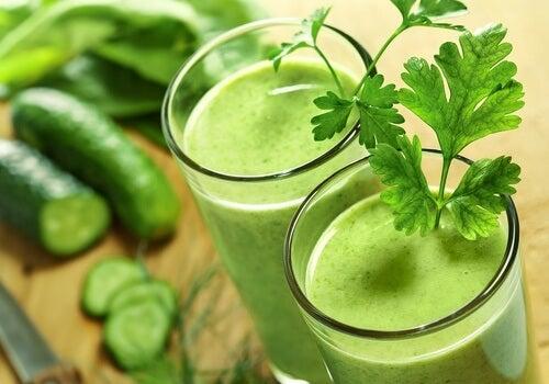 Grønne juice er sunde