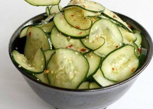 7 gode grunde til at spise agurk hver dag