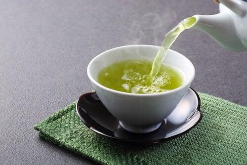 Groen te til at regenerere din lever.