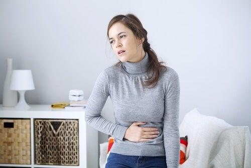 Mavepine som tegn på angst