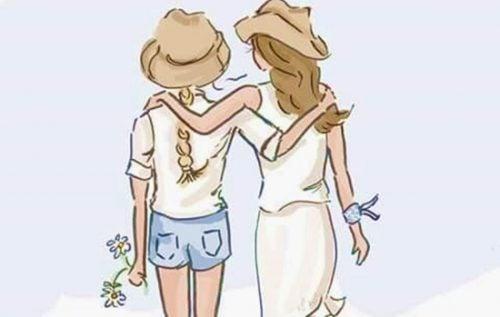 veninder sammen
