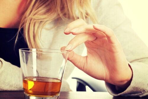 Undgå alkohol