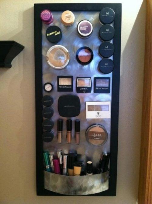Organiser din makeup