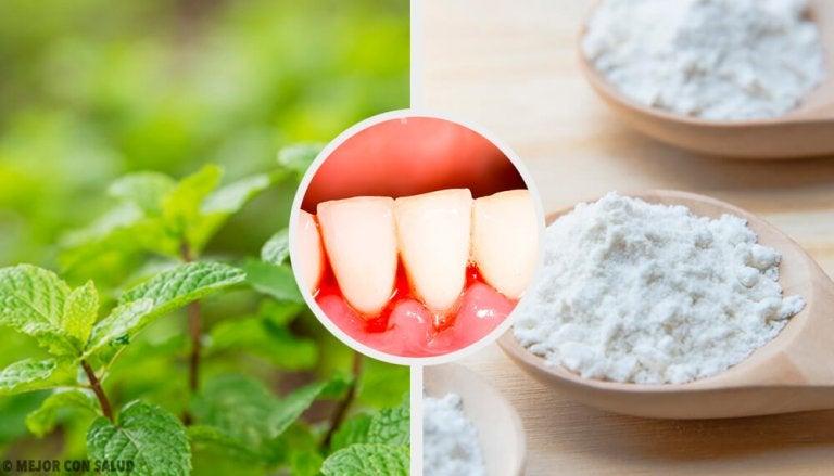 5 effektive hjemmemidler mod tandkødsbetændelse