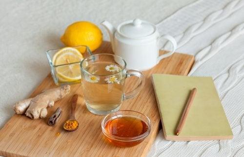 Du kan aktivere dit stofskifte med denne stærke te