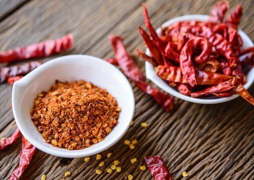 Chili mod Smerter i nakken