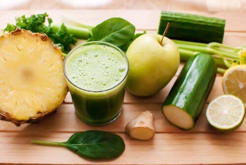 Juice af grøntsager