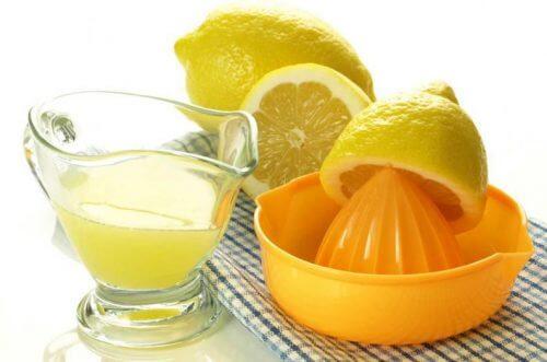 Citron - hjemmemidler mod plak