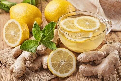 Tab dig med ingefaer og citron