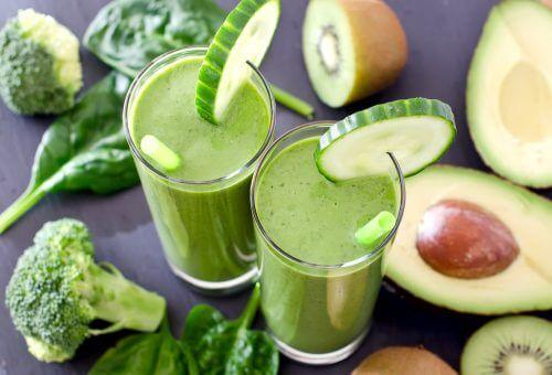 Drik en grøn smoothie om dagen: Syv opskrifter du kan prøve