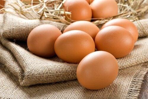 Æg er gavnlige for dine øjne.