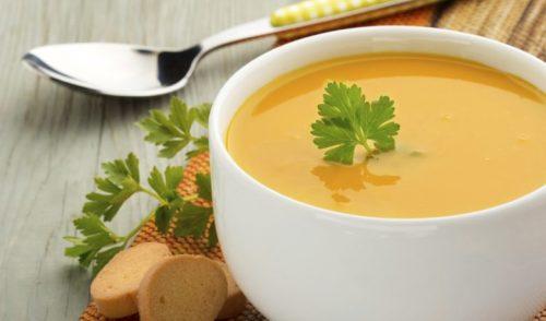 Start med suppe