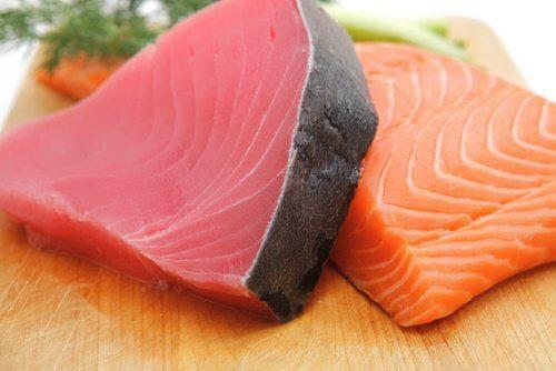 Fed fisk øjensundhed