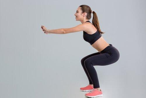Variationer af squats