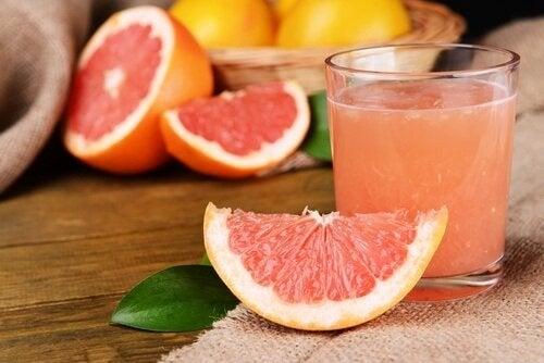 Grapefrugt juice - du ringen for oererne