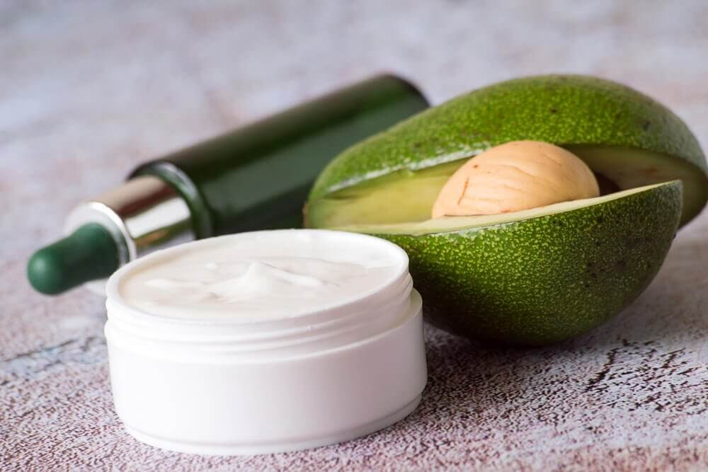 Natcreme med avocado
