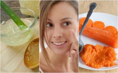 5 hjemmelavede cremer der reducerer smilerynker