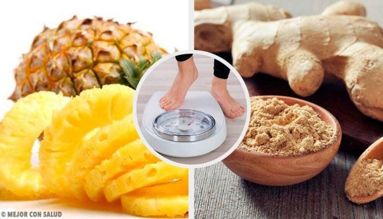 Opskrift på ananas- og ingefærsmoothie