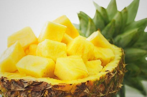 Ananas skiver