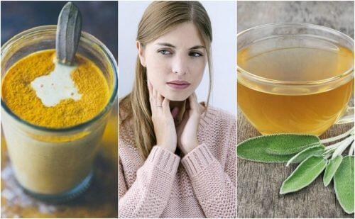 Sådan lindres ondt i halsen med 6 naturlige ingredienser