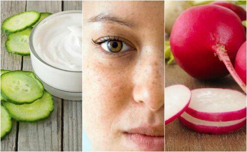 Hvordan du reducerer pletter på dit ansigt med 5 naturlige midler
