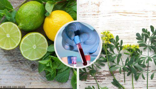 Carrulim et naturligt middel med vajd og citron