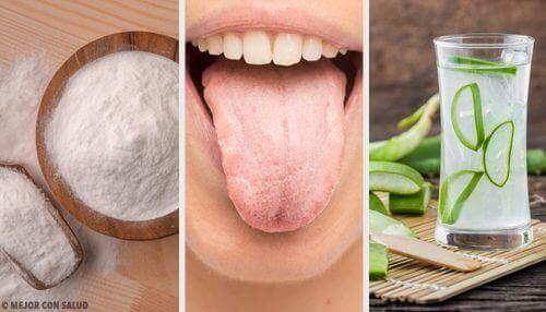 Hvid tunge er løst med 8 naturlige midler