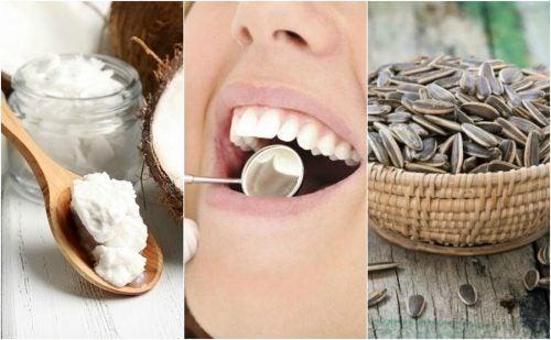 Reducer tandplak med naturlige midler