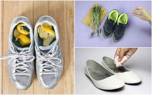 Sådan forhindrer du ildelugtende sko med 5 hjemmemidler