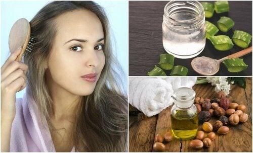 5 naturlige behandlinger mod tyndt hår
