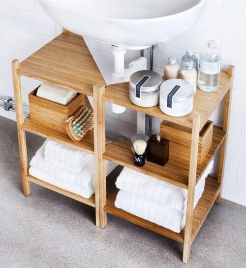 Møbel på badeværelse