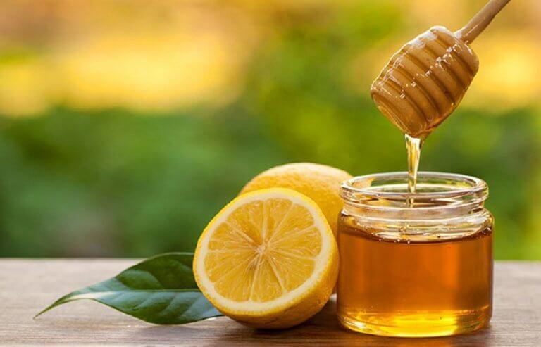 Citron og honning