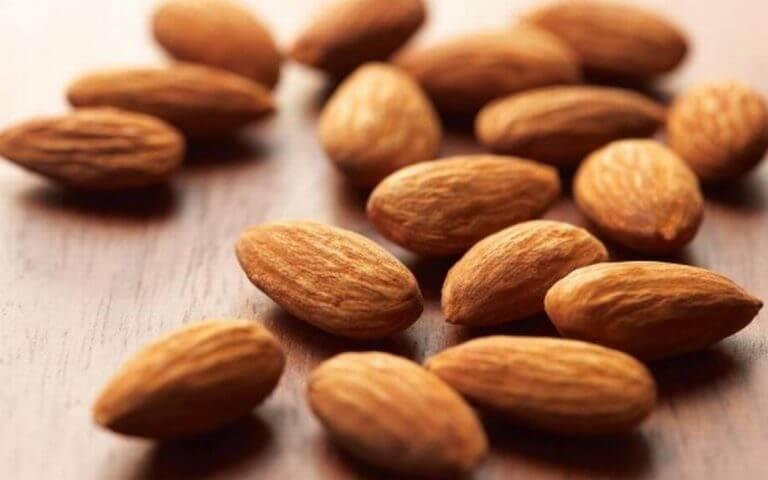 Mandler - B-vitamin - stimulere din hjerne