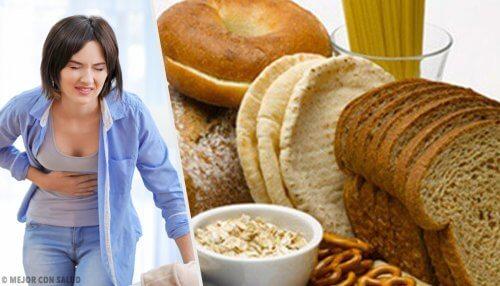 Kend symptomerne på glutenintolerance og hvordan man behandler det