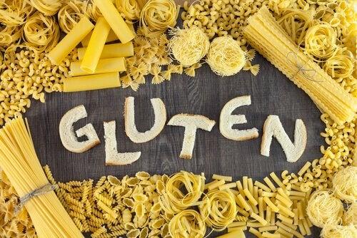 Pasta - symptomerne paa glutenintolerance