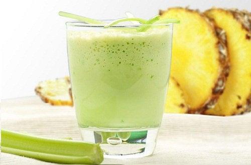 Ananassmoothie - detoxe din krop
