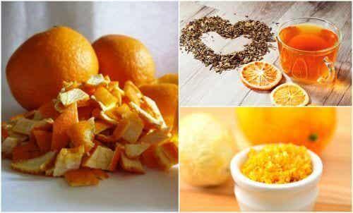 5 alternative anvendelser for appelsinskal