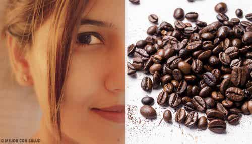 5 ansigtsmasker med kaffe til bedre hud