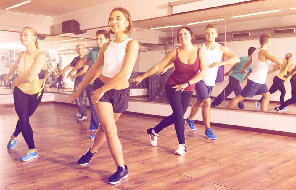 Kvinder der danser