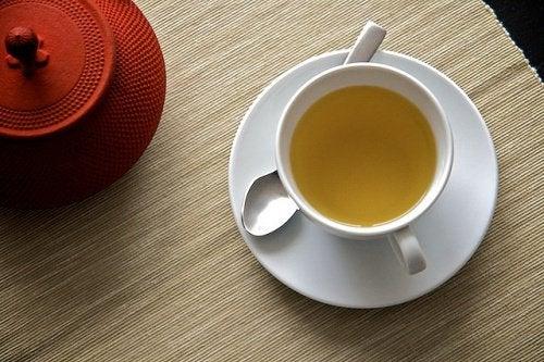 En kop te.