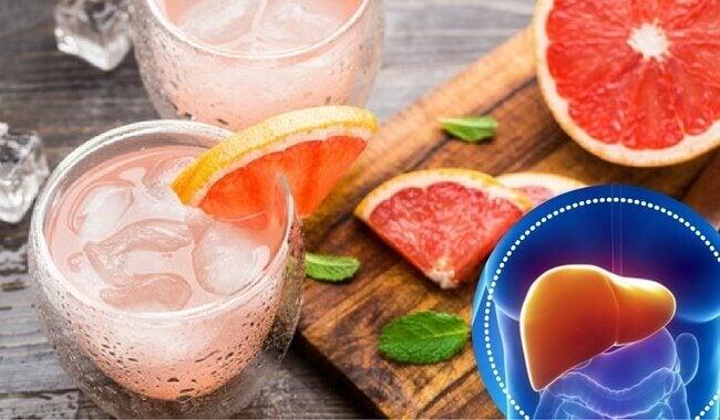 Grapefrugt smoothie