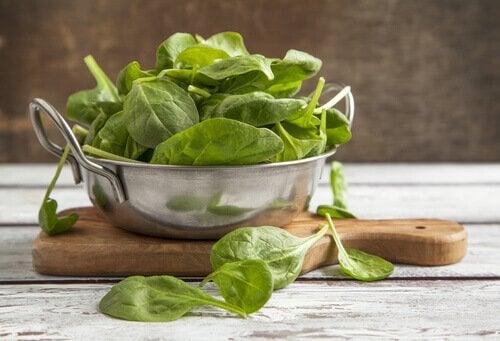Hvorfor spise spinat