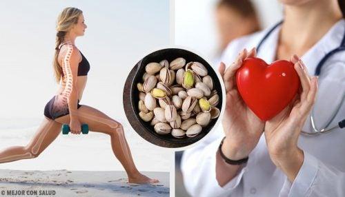 10 grunde til at spise pistacienødder