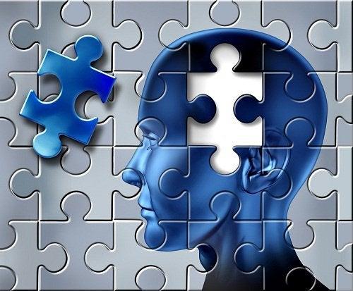 Manglende brik i hjerne symboliserer alzheimers