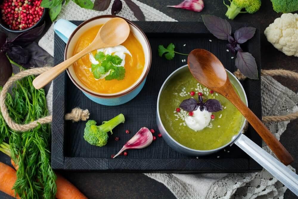 Sunde supper med broccoli